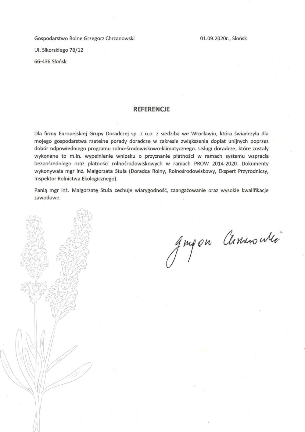 Opinie Twój Doradca Rolny - Chrzanowski