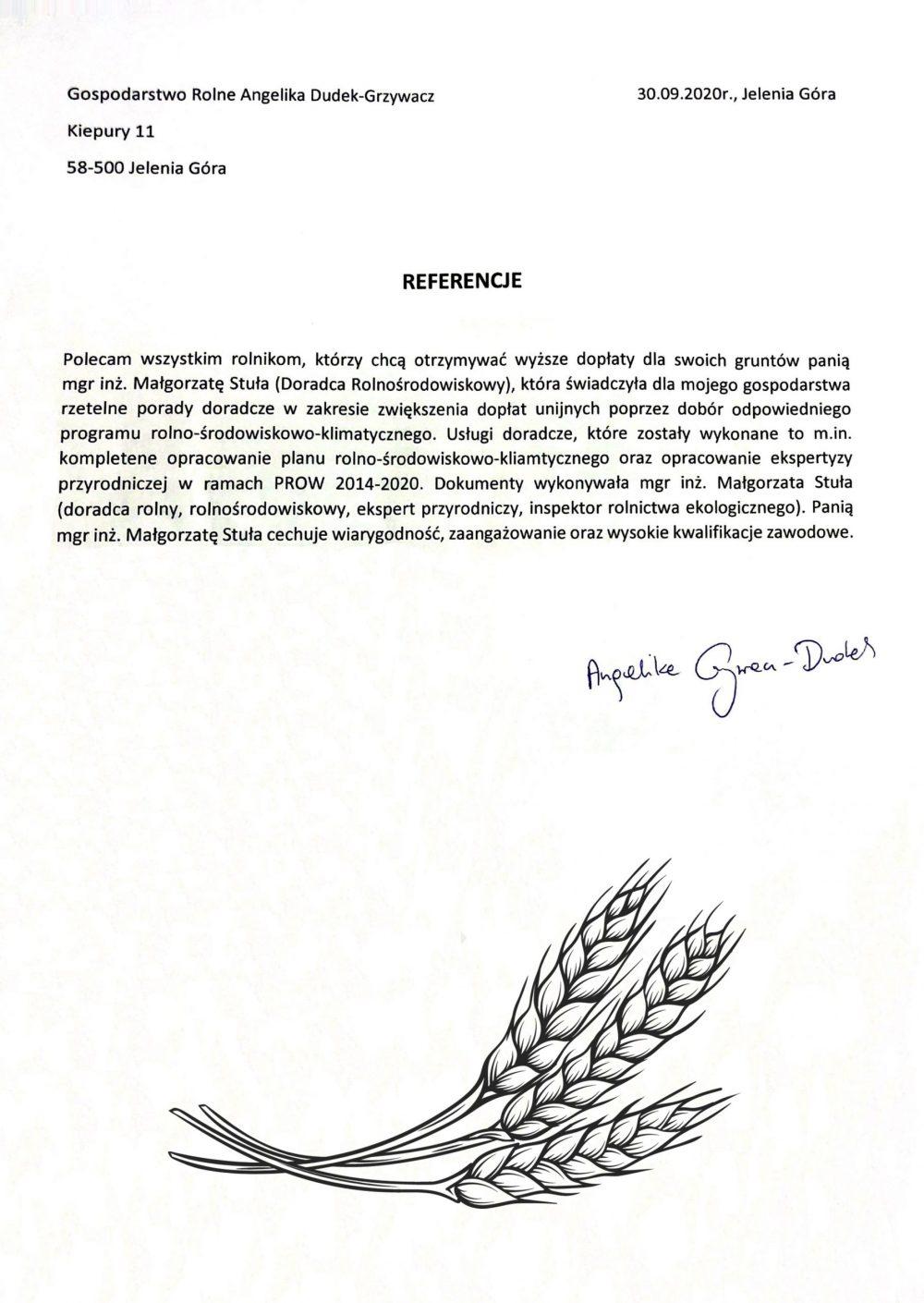 Opinie Twój Doradca Rolny - Grzywacz