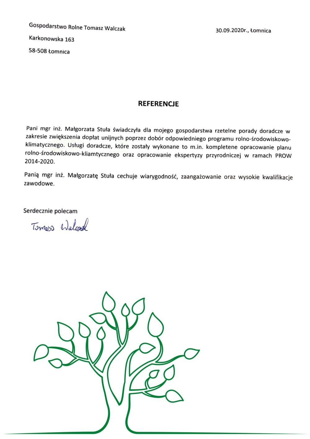 Opinie Twój Doradca Rolny - Tomasz Walczak