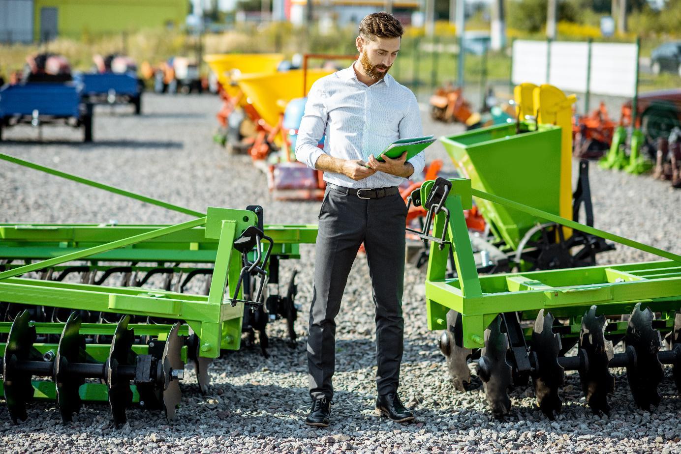 rozwój usług rolniczych